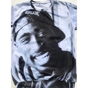 Tupac 2pac Long Sleeve Shirt